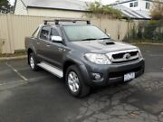 2010 Toyota Hilux KUN26R 09 Upgrade SR5 (4x4) Silver 4 Speed Automatic Dual Cab Pick-up Newtown Geelong City Preview