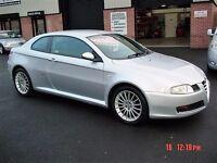 2007 Alfa Romeo GT 1.9 16v JTDM LUSSO Coupe ******43000 miles******