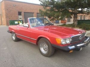 1977 MERCEDES 450SL. ESTATE SALE!! IMACULATE CONDITION