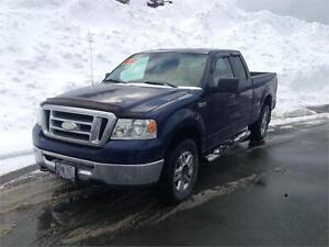2007 Ford F-150 XLT 4X4 SuperCab ... $10900...71,500 kms