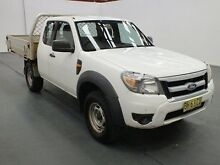 2010 Ford Ranger PK XL (4x4) White 5 Speed Manual Super Cab Chassis Fyshwick South Canberra Preview