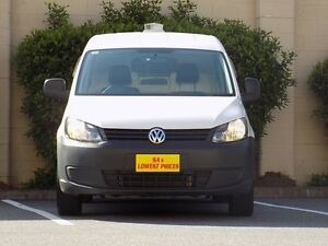2013 Volkswagen Caddy 2KN MY14 TDI250 SWB DSG White 7 Speed Sports Automatic Dual Clutch Van Blair Athol Port Adelaide Area Preview