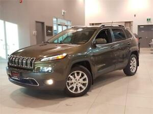 2015 Jeep Cherokee LIMITED 4X4 **NAVIGATION-LEATHER-WARRANTY**