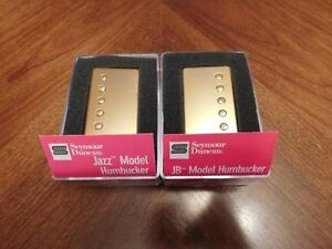 Seymour Duncan JB and Jazz Gold Covered Pickup Set
