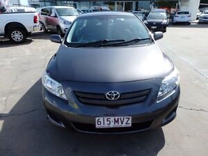 2010 Toyota Corolla ZRE152R MY10 Ascent Grey 4 Speed Automatic Sedan Townsville Townsville City Preview
