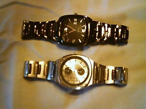 2 Stainless Steel Watches