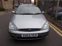 FORD FOCUS 1.8 LX 5 DOOR HATCHBACK 53 REG,, TRADE IN CAR TO CLEAR,, MOT FEBRUARY 28TH 2019