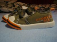 for sale baby boy trainers size 4, brand new,