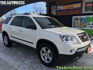 2011 GMC Acadia SLE1 AWD CERTIFIED! THIRD ROW! ACCIDENT FREE!