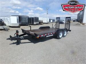 14K - 7 x 16 HD Equipment Trailer -*CANADIAN MADE!*- Tax In!