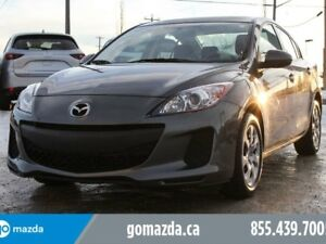 2013 Mazda Mazda3 GX POWER OPTIONS A/C ACCIDENT FREE