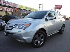 2008 ACURA MDX **ELITE PKG**  *NAVI, CAMERA*