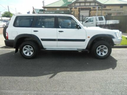 2003 Nissan Patrol GU III MY2003 ST White 4 Speed Automatic Wagon Blair Athol Port Adelaide Area Preview