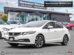 2015 HONDA CIVIC EX AUTO |CAMERA|SIDECAMERA|ROOF|PHONE|ONLY37KM