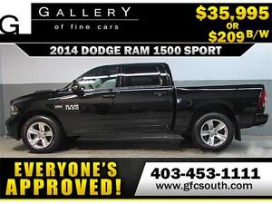 2014 DODGE RAM SPORT CREW *EVERYONE APPROVED* $0 DOWN $209/BW!