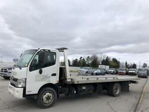 2013 Hino 195 - Tow Truck - Flat Tilting Bed - 2 Car Carrier