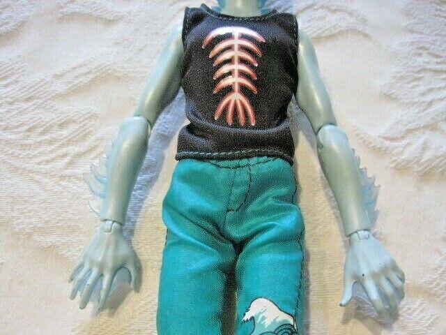 Monster High First 1st Wave Skull Shores Gillington Gil Webber Doll - $32.99