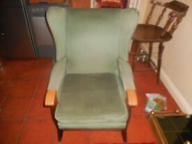 ARM CHAIR WING BACK CHAIR USED CHAIR choice off 3
