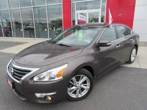 2014 NISSAN ALTIMA 2.5 SL LEATHER S-ROOF H-SEATS PWR-SEAT CAMERA