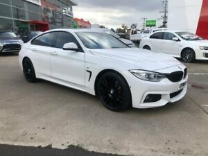 2016 BMW 428i F36 M Sport Gran Coupe White 8 Speed Sports Automatic Hatchback Hoppers Crossing Wyndham Area Preview