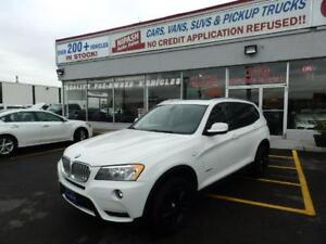 2013 BMW X3 28i X DRIVE BLUETOOTH,PANORAMIC ROOF NO ACCIDENTS
