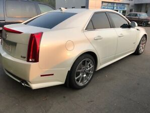 2010 Cadillac CTSV Supercharged Sedan