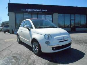 FIAT 500 500C LOUNGE CONVERTIBLE 2012