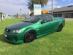 2009 Holden Commodore VE MY09.5 SS Green 6 Speed Manual Utility Maddington Gosnells Area Preview