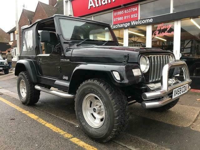 Jeep Wrangler Sahara Soft Top Black Low Mileage 2001 4l Gumtree