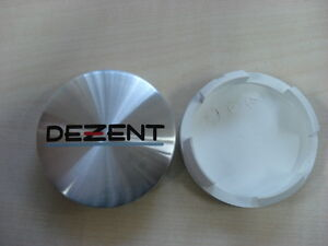 Dezent Felgendeckel, Nabenkappe, Center Cap ca. 60mm silber poliert  N07 ZT2000