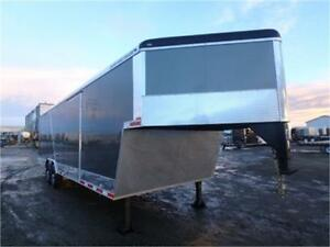 -*NEW*- 8.5 X 32 Qualifier Gooseneck Enclosed Car Trailer !