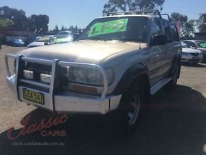1993 Toyota Landcruiser GXL (4x4) Gold 5 Speed Manual 4x4 Wagon Lansvale Liverpool Area Preview