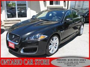 2012 Jaguar XFR V8 SUPERCHARGED NAVIGATION
