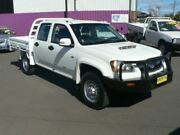2011 Holden Colorado RC MY11 LX (4x4) White 5 Speed Manual Crew Cab Chassis Dubbo Dubbo Area Preview