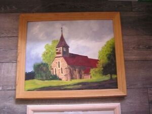 Framed Pictures  Church ,etc London Ontario image 2