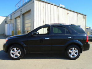 2009 Kia Sorento EX SPORT-4X4-HEATED LEATHER-SUNROOF-AMAZING
