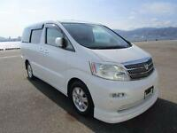 TOYOTA ALPHARD 3.0 MZG VERY HIGH SPEC FEB 2005 7 LEATHER SEATS GRADE 4B DUE OCT