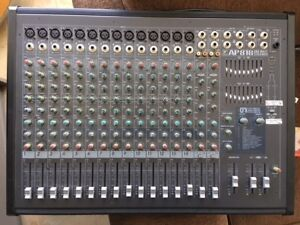 Yorkville AP818 Stereo Mixer with 2 - 400 Watt Power Amps