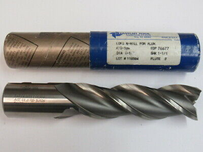 "Regal 13//16/"" 2 Flute High Speed Steel End Mill 3-1//2/""LOC 5-3//4/"" OAL Center Cut"