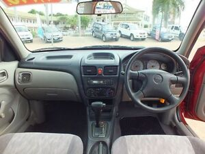 2001 Nissan Pulsar N16 ST Red 4 Speed Automatic Sedan Rosslea Townsville City Preview
