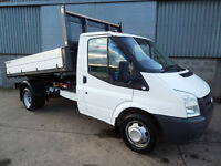 Ford Transit 350 115 TDCi one stop drop side tipper 2011 11 reg