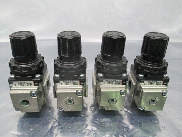 4 SMC AR20-N02H-Z Modular Regulator, 7~125 PSI, 100494