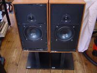 Vintange ARC british speakers with original Stands No X-overs
