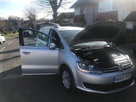 Volkswagen Sharan 2.0 TDI BlueMotion Tech ONE OWNER+LOW MILADGE+HPI CLEAN+ DIANAMIC SHAPE+1 YEAR MOT