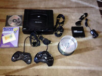 Sega Saturn Modded With HDMI Converter Action Replay N MORE