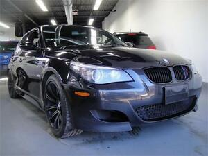 2008 BMW M5-HEAD UP DISPLAY ACTIVE SEATS 7 SPEED SMG MUST SEE