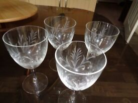 LEAD CRYSTAL GLASSES