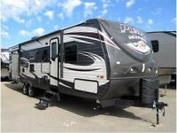 NEW 35 FT PALOMINO PUMA UNLEASHED 30 THSS TOYHAULER TAVELTRAILER