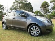 2009 Toyota Yaris NCP91R MY09 YRS Grey 4 Speed Automatic Hatchback Doveton Casey Area Preview