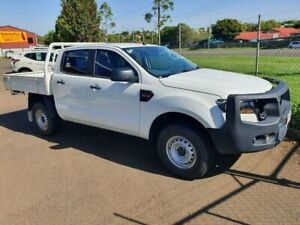 2016 Ford Ranger PX MkII MY17 XL 3.2 (4x4) White 6 Speed Automatic Crew Cab Chassis Wilsonton Toowoomba City Preview